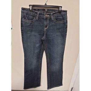A.N.A Women's Boot Cut Blue Jeans Size 10